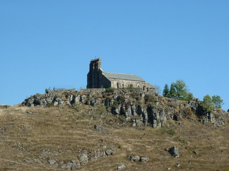 Église de Fortuniès,  Crédits : CG BBT