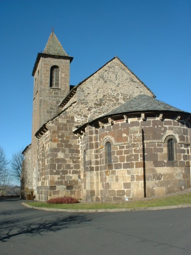 Eglise de MoussagesCr�dits : CG BBT