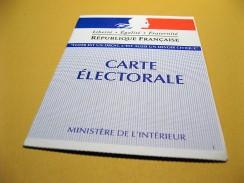 Inscription sur les listes électorales jusqu'au 31 décembre 2010