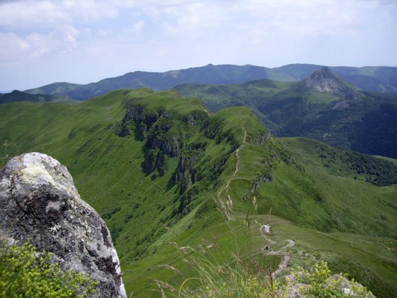 Crête de la Brèche de Rolland - Altitude moyenne 1 650 mètres,  Crédits : BBT