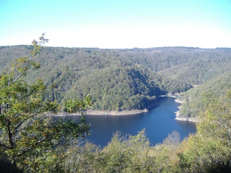 Les Gorges de la Dordogne depuis le Rocher de Chabane,  Crédits : BBT