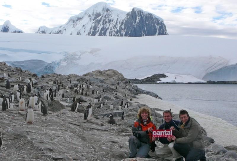 Anna Fabrice et Isabelle en Antarctique