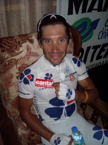 Christophe Le M�vel 10� du tour et meilleur francais du tour ( vainqueur de Marcol�s )