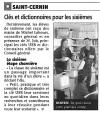 La Montagne du 25 septembre 2009 - Clés et dictionnaires pour les sixièmes - St-Cernin