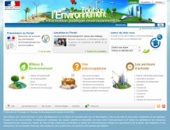 www.toutsurlenvironnement.fr, le portail des informations environnementales des services publics