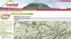 Un outil cartographique pour trouver une assistante maternelle dans le département du Cantal