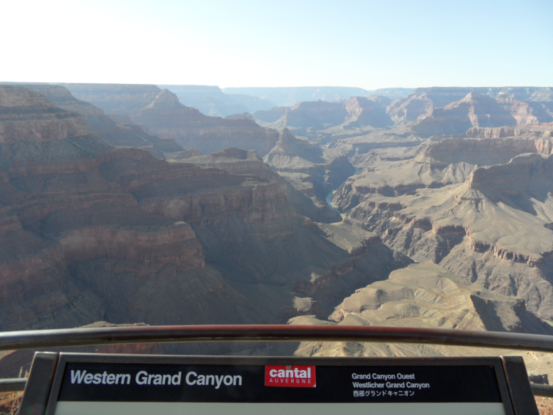 Vu sur le Grand Canyon le 28/04/11