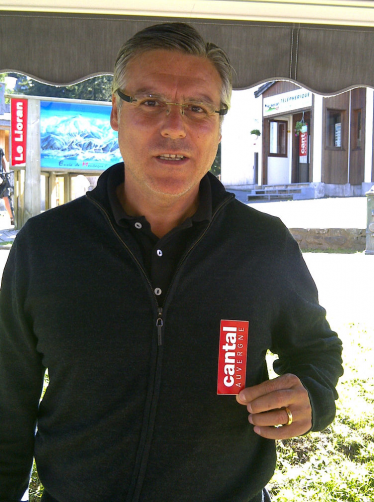 Manu Amoros (france 82) en vacances au Lioran.