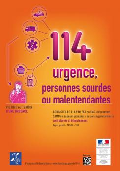 114 : le numéro d'urgence par sms (ou fax) pour les personnes sourdes ou malentendantes