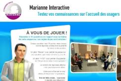 Marianne Interactive : le premier serious game de l'Administration dédié à l'accueil