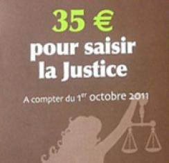Saisir la justice : achat en ligne du timbre de 35 euros