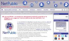 Journal Officiel : Le ministre du redressement productif a autorité sur la délégation aux usages de l'internet (éditrice des sites NetPublic.fr et NetEmploi.fr)