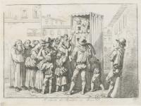 Théâtre de rue à Salers (1702)