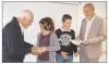 La Montagne du 20 septembre 2012 : Distribution d'outils pédagogiques – Saint-Flour