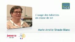 L'usage des tablettes en classe de SVT