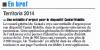 L'Union du Cantal - 22 novembre 2014 - Une médaille d'argent pour le dispositif Cantal Mobilis