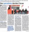 L'union du Cantal - 26 novembre 2014 - E-SANTÉ : Une table ronde a mis en évidence le côté pratique, mais aussi le volet économique de la pratique de la médecine numérique.