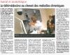 La Montagne - 09/04/2015 - La télémédecine au chevet des maladies chroniques