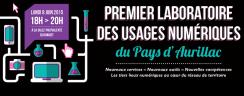 Premier laboratoire des usages numériques du Pays d'Aurillac