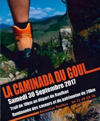 Course hors stade - Trail Caminada du Goul