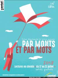 Festival départemental de lectures musicales par  Monts et par Mots, lecture en chemin...